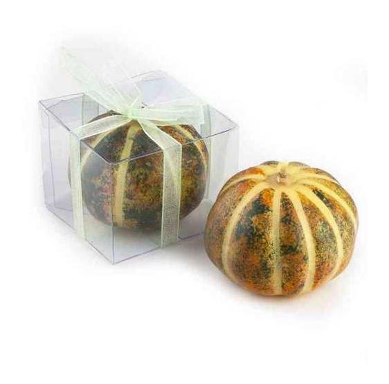 Velas de calabaza bicolor (precio unidad)