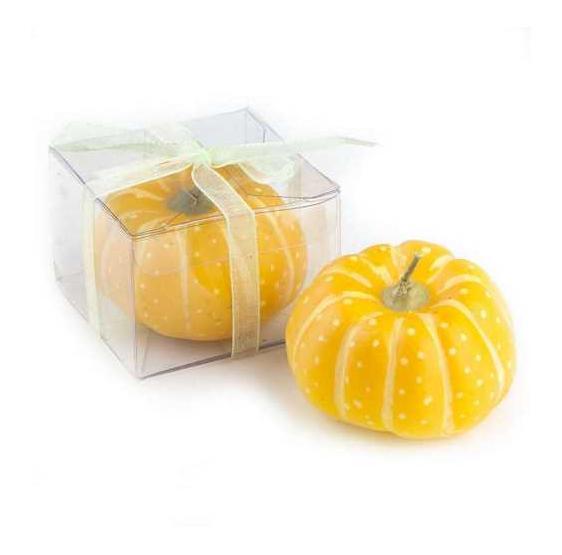 Velas de calabaza amarilla (precio unidad)