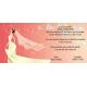 Invitacion de boda novia vestido