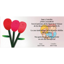 Invitacion de boda rosas
