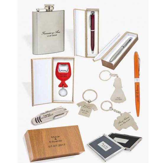 Grabaciones laser para regalos