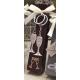 Llaveros decorados con caramelos