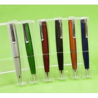 Bolígrafos surtidos colores en caja acetato (precio unidad)