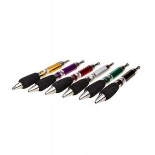 Bolígrafos grueso 6 colores (precio unidad) sin caja
