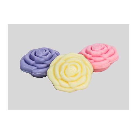 Jabón forma de rosa surtida