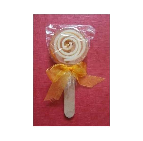 Piruleta de Jabón - Modelo 4 Naranja