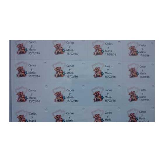 Tarjeta Novios Perritos incluye 45 unidades