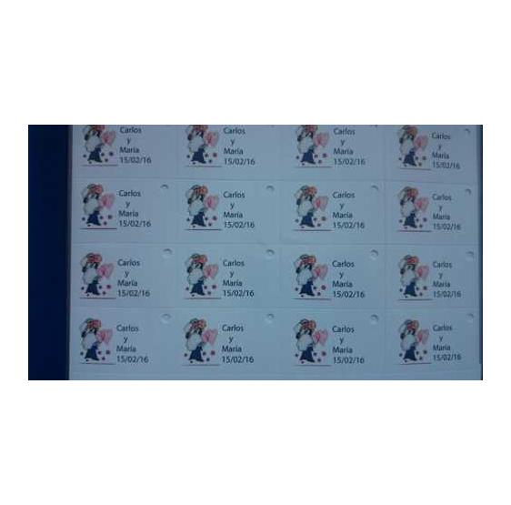 Tarjeta Novios incluye 45 unidades
