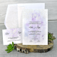 Invitacion de boda en sobre diseño original