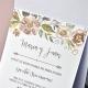 Invitacion de boda en sobre a bajo precio