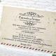 Invitacion de boda en sobre original y a bajo precio