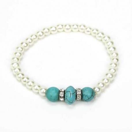 Pulsera perlas detalle de boda