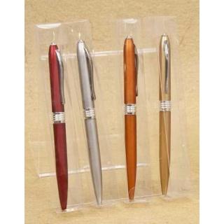 Bolígrafos surtidos en caja acetato (precio unidad)
