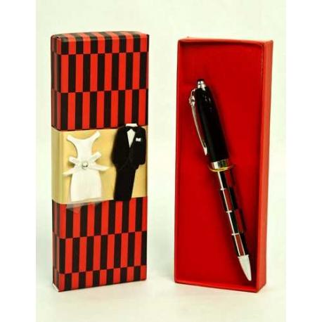 Estuche bolígrafos cuadros decorado (precio unidad)