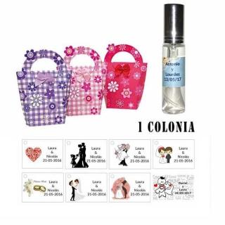 Colonia personalizada en cesta