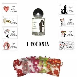 Colonia personalizada regalos boda