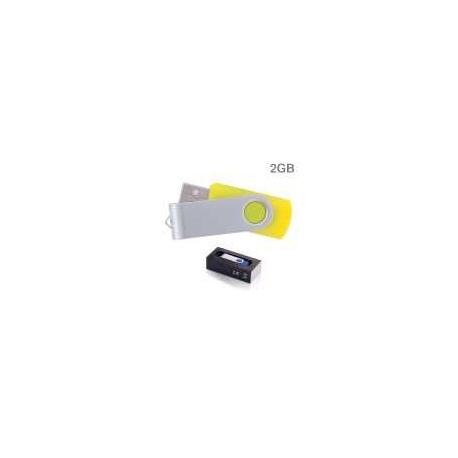 USB personalizado (2GB) colores surtidos