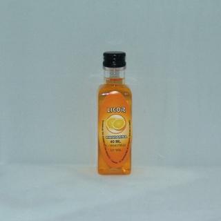 Licor de Mandarina para regalos de boda 40ML