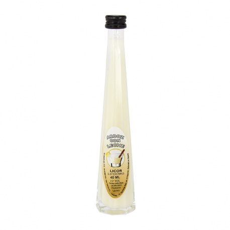 Licor de arroz con leche 40ml regalos de boda