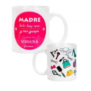 "Taza personalizada ""Madre"" para regalar"