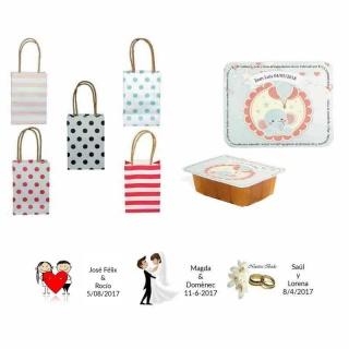 dulce membrillo 125gr niño bebe con bolsas originales y tarjeta
