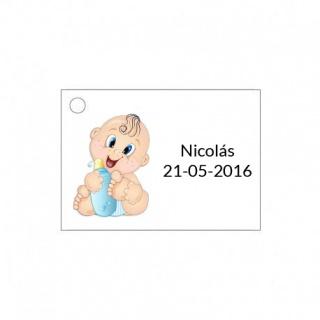 Tarjeta para detalle de bebé