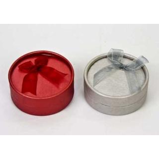 Caja 9cm roja/gris para pulseras (precio unidad)