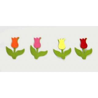 Surtido flores tulipanes tulipanes. bolsa de 50 unidades (7cm)