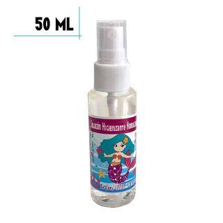 Gel Hidroalcohólico de Sirenita 50ml, para desinfectar manos