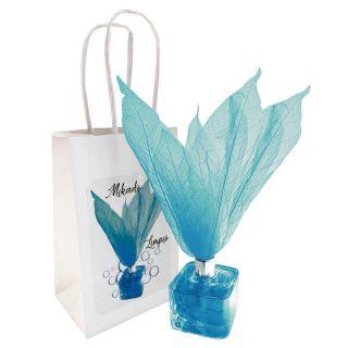 Ambientador tipo Mikado aroma Limpio con flor, incluye bolsa