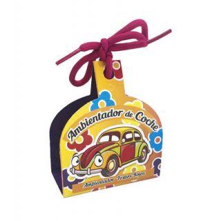 Ambientador de coche con olor a frutos rojos y cuerda para colgar