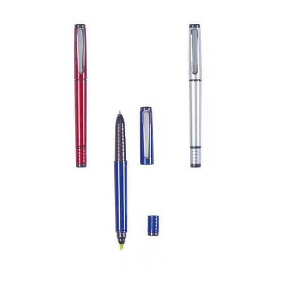 Bolígrafos surtido + subrayador fino surtido (precio unidad)
