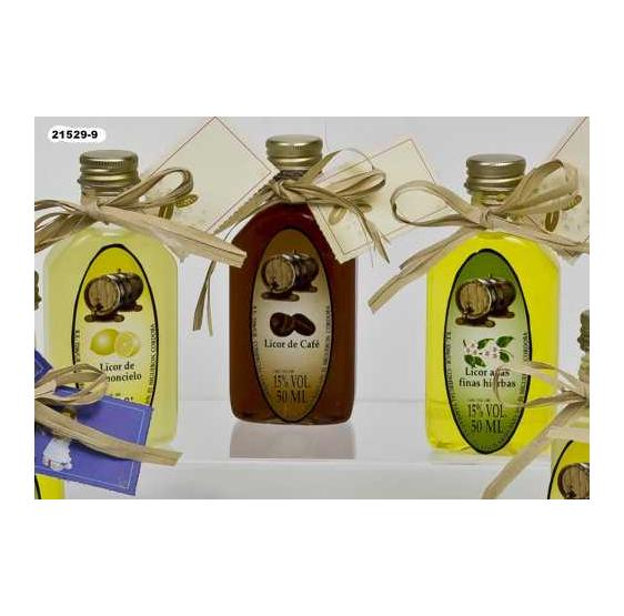 Botella Licor de limoncello (50ml)