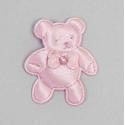 Pin oso brillo rosa