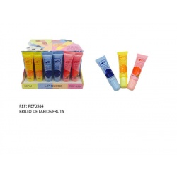 Brillo de labios de fruta
