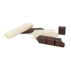 Bolígrafo regalo de boda forma tableta chocolate