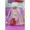 Perfume en bolsa de organza encaje