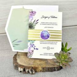Invitacion de boda original y barata