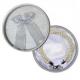 Pulsera triple perlas + caja
