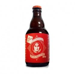 """Botella de cerveza artesana LA SIEGA """"sin glúten"""", con malta de cebada y trigo"""