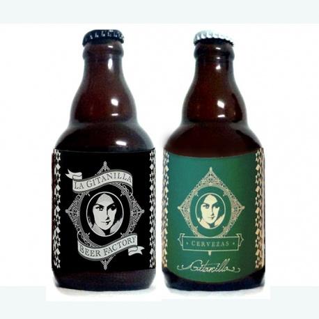 Surtido de cervezas (Indian Pale Ale y Aire), para regalar en bodas