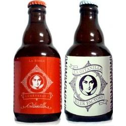 Surtido de cervezas (Pale Ale y La Cordobesa), para regalar en bodas