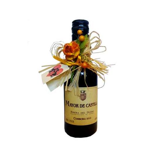 Botella Vino Ribera Duero Decorada