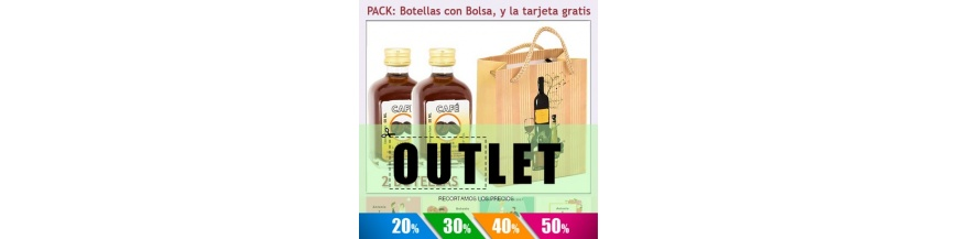 Bodas Outlet Packs de Licores