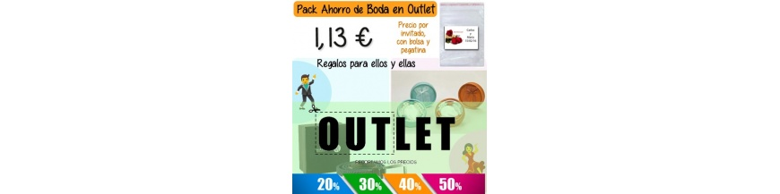 Bodas Outlet Packs Completos Hombre y Mujer