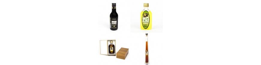 Botellitas de licor y Vinos
