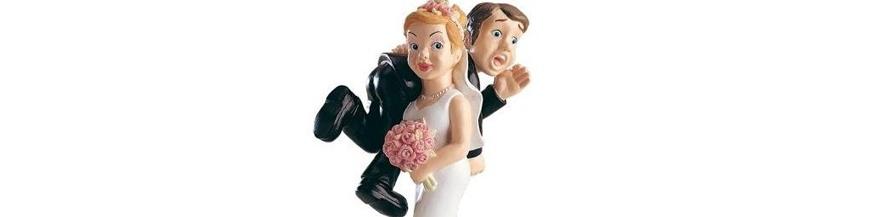 Figuras tartas para boda