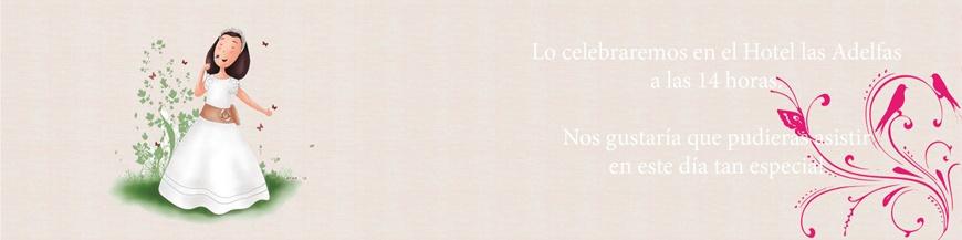 Invitaciones y recordatorios de celebración infantil