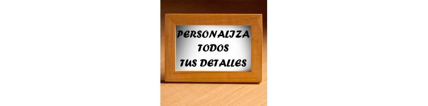 Personaliza detalles de empresa